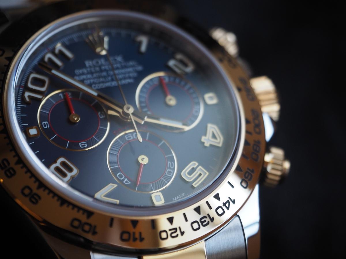 30男のデイトナ購入記(116503)①-腕時計の適正サイズを考える。